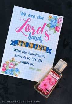 hand printable handout free printables for church