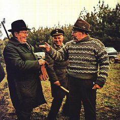 josip broz tito and leonid brezhnev on a hunting trip.
