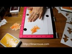 Perfect Color Layering and Die Cutting with the MISTI - YouTube