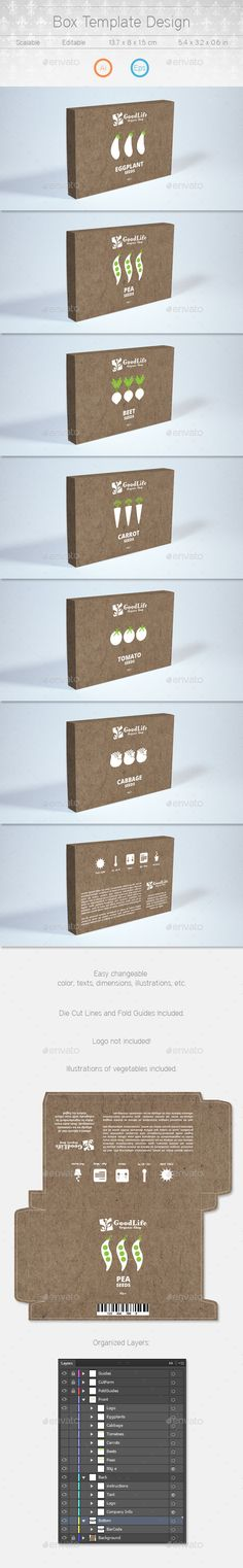 Box Template Design