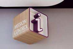 information, signage, 3D