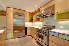 Home dzine plywood kitchen designs kitchen ideas for Birch veneer kitchen cabinets