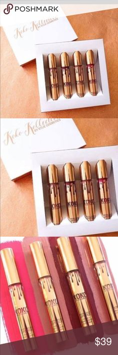 SALE !!!!   Koko collection from Kylie 🎀🎀🎀🎀. Brand new never opened 🎀🎀🎀 Kylie Cosmetics Makeup Lipstick