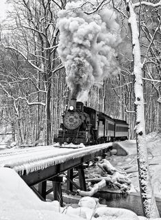 Winter Steam, Wilmington, Delaware