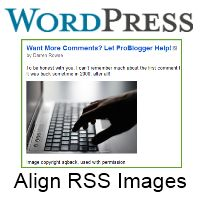 How To Align Images Correctly In Your RSS Feed