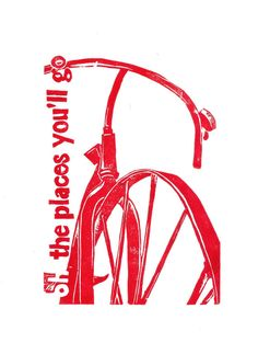 love the quote & the bicycle graphic