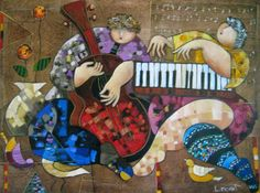 TICMUSart: Untitiled Painting - Dorit Levi (2009) (I.M.)