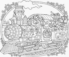 Coloring Rocks Train Coloring Pages Free Christmas Coloring Pages Christmas Coloring Pages