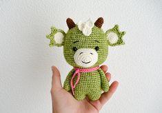 Crochet Dragon Pattern Amigurumi dragon pattern crocheted