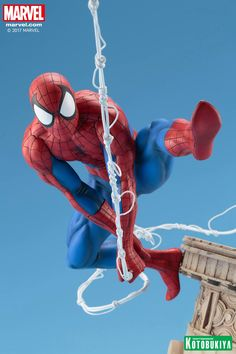 Spider-Man is getting a new classic-style version statue from Kotobukiya. It will be in 1/6th scale and feature Spidey swinging through the sky.