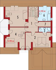 Rzut AC Radosław CE House Plans, Floor Plans, How To Plan, Top, House Floor Plans, Crop Shirt, Floor Plan Drawing, Shirts, Home Plans