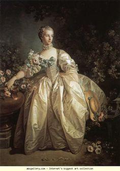 François Boucher. Madame Bergeret.