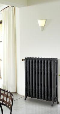 radiateur en fonte chappe floreal radiateurs en fonte style rtro dcor lisse ou