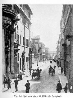 Roma Sparita - Via del Quirinale