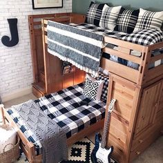 396 Best Bunk Beds Images On Pinterest In 2019 Beddys Bedding Boy