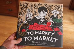 Famers market childrens book - Kale and all!
