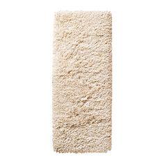 IKEA - GÅSER, Teppich Langflor, Ein langfloriger Teppich wirkt geräuschdämmend und es ist angenehm, darauf zu laufen.Aus Synthetikfasern und daher robust, fleckabweisend und leicht zu reinigen.Durch den langen Flor lassen sich mehrere Teppiche zusammensetzen, ohne dass Übergänge sichtbar sind.
