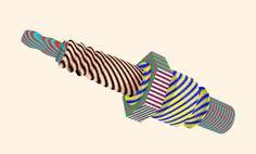 Santtu Mustonen for Flow Festival by Hugo & Marie, via Behance