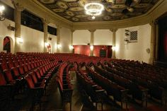 If you ever stop in Santa Barbara make sure to catch a show at the Lobero Theater! Concerts, lectures and film festival highlights all take place in this gorgeous Spanish style masterpiece. #SantaBarbara #SpanishStyle