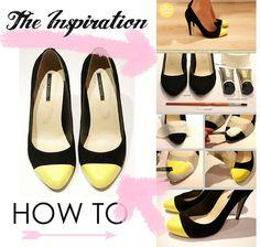 DIY : Shoe Tip Trend