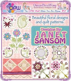 Designs by Janet Sansom!