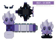 Toujours chez nos petits vilains de Disney, voici l'imposante Ursula (la méchante reine de La Petite Sirène). Une mini-création de l'artiste Gus Santome, à découvrir en lisant la suite… Ce mini papercraft est directement issu du long-métrage d'animation La Petite…