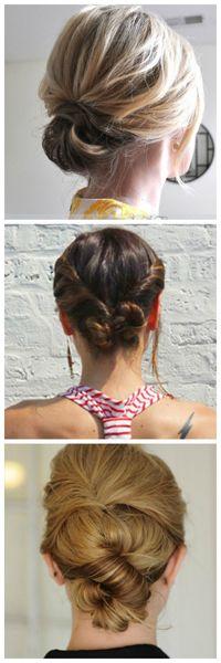 20 Pretty Styles for Short to Medium-Length Hair -- top one for Ashely's wedding as my bridesmaid hair