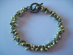 Gold Bead Bracelet ∙ Creation on Cut Out + Keep