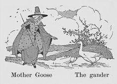 Mother Goose and her gander by katinthecupboard, via Flickr
