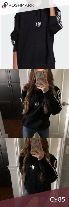 Check out this listing I just found on Poshmark: Adidas hoodie. #shopmycloset #poshmark #shopping #style #pinitforlater #adidas #Tops Adidas Crop Sweater, Adidas Zip Up Hoodie, Adidas Crew Neck, Adidas Cropped Hoodie, Zip Up Sweater, Pullover Sweaters, Pink Zip Ups, Black Zip Ups, Satin Joggers