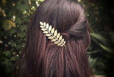 Feuille de Laurier épingle à cheveux feuilles de par OLIVIABRUN