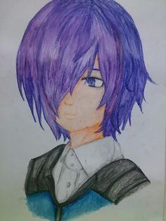 Anime-- Touka from Tokyo Ghoul