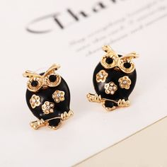Best price on Black Punk Golden Vintage Owl Earrings     Price: $ 9.80  & FREE Shipping     Your lovely product at one click away:   https://mrowlie.com/black-punk-golden-vintage-owl-earrings/     #owl #owlnecklaces #owljewelry #owlwallstickers #owlstickers #owltoys #toys #owlcostumes #owlphone #phonecase #womanclothing #mensclothing #earrings #owlwatches #mrowlie #owlporcelain