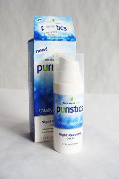 Puristics Night Recovery Cream #Puristics