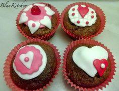 Cup Cakes de San Valentín