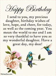 Happy Birthday Wishes Messages, Birthday Wishes For Her, Happy Birthday Images, Happy Birthday Cards, Card Birthday, 40th Birthday, Birthday Congratulations, Birthday Stuff, Birthday Ideas