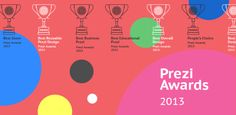These are the winning prezis from the first annual #prezi awards in 2013