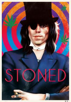 retro poster for sale the rolling stones keith richards