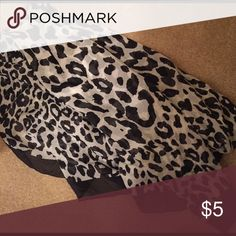 Cheetah scarf New without tags Accessories