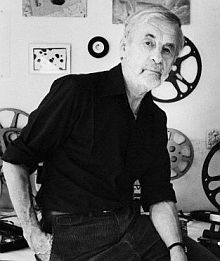 MAINE ART SCENE MAGAZINE - Rudy Burckhardt Mini Film Festival at Waterfall Arts. On Thursday, August 8 at Dusk  (Belfast, ME) Rudy Burckhardt, artist & summer resident of Searsmont, often both made and showed his movies in Belfast in the 1970s and 80s. In the spirit of those times and in conjunction with the Richard Norton Belfast: 1978-88 exhibit, on Thursday Aug. 8, Waterfall Arts will show several of Burckhardt's films outdoors on a large screen. The movies begin at dusk, around 8:30 pm.