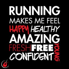 There is more to running than just getting a good sweat. #runhappy #irunbecause #runfree