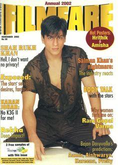 Shah Rukh Khan - magazine cover - Filmfare Annual 2002