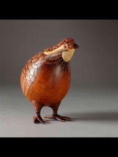 Beautiful Patterns, Beautiful Birds, Gourds Birdhouse, Spring Photography, Painted Gourds, Muse Art, Coconut Shell, Gourd Art, Bird Design