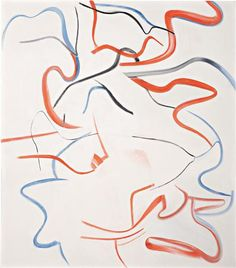 "WILLEM DE KOONING  Untitled XVIII, 1984  oil on canvas  88 x 77 in. (223.5 x 195.6 cm)  Signed ""de Kooning"" on the stretcher."