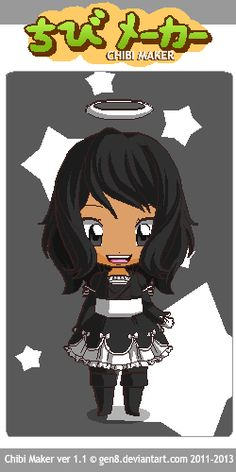 """I tried my Best to make Alice Angel from """"Bendy and the Ink Machine"""" Chibi style! Chibi Maker, Alice Angel, Bendy And The Ink Machine, Anime, Fictional Characters, Style, Art, Swag, Art Background"""