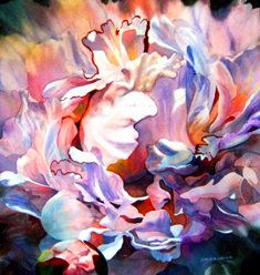 Flower 0241 Watercolor by sia.yekchung 谢一春, via Flickr