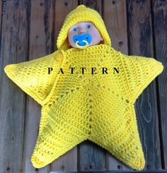Please note this is for the pattern only. Actual product can be purchased here: https://www.etsy.com/listing/151430704/star-cocoon-newborn-sleep-sack-baby?ref=shop_home_active_39  This fun little star is great for newborn photo shoots or a special gift for the newest little light in your life! Can be made in 2 sizes, a small newborn, 5-7 pounds, or a larger 8-11 pound size. Choose a color and get started!  Download immediately once payment is made! Please make sure you have a PDF reader…