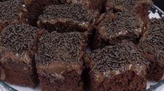 Bolo de Chocolate da Fran – Massa de Chocolate e Cobertura de Chocolate! Chocolates, Brownies, Pasta, Desserts, Youtube, Easy Chocolate Cake Recipe, Cupcake Recipie, Tasty Food Recipes, Delicious Recipes