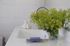 Kontryhelových květů jsme měli opravdu hodně. Svou jemnou a zvláštní vůní provoněly celou koupelnu.