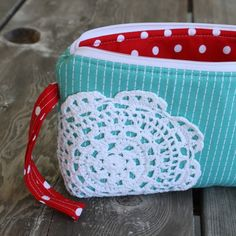 use for old doilies  from Pleated Poppy
